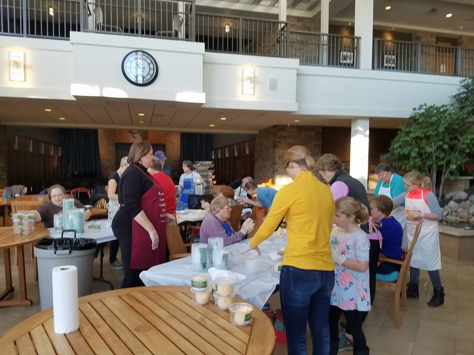 Cheesball Fundraiser by Fergus Falls Business and Professional Women